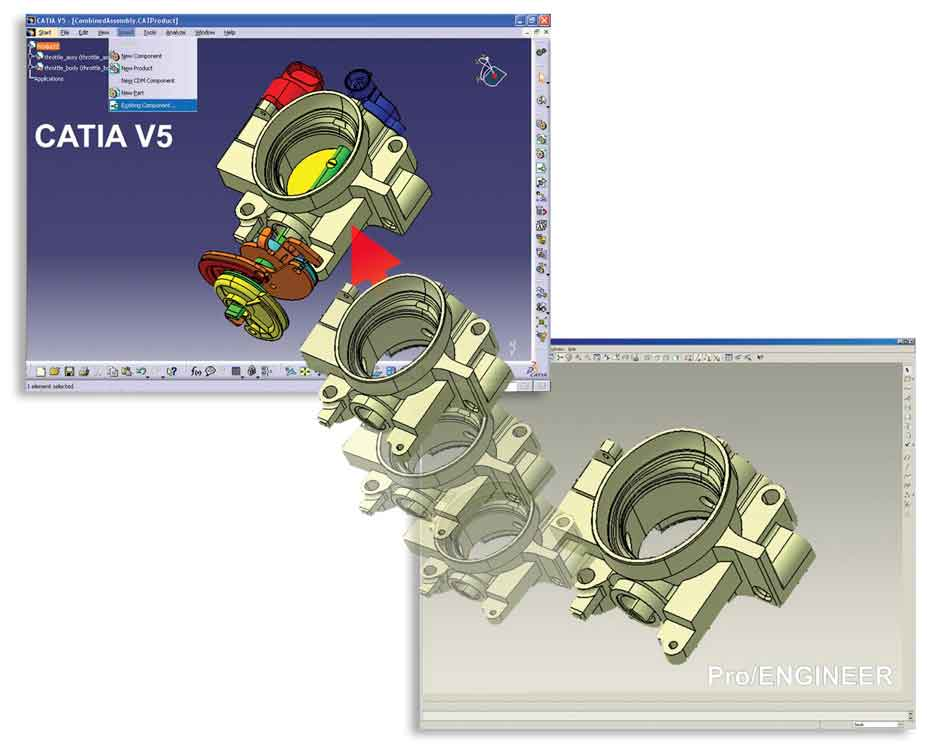 Multi-CAD V18.5 (Imágen por Theorem Solutions)