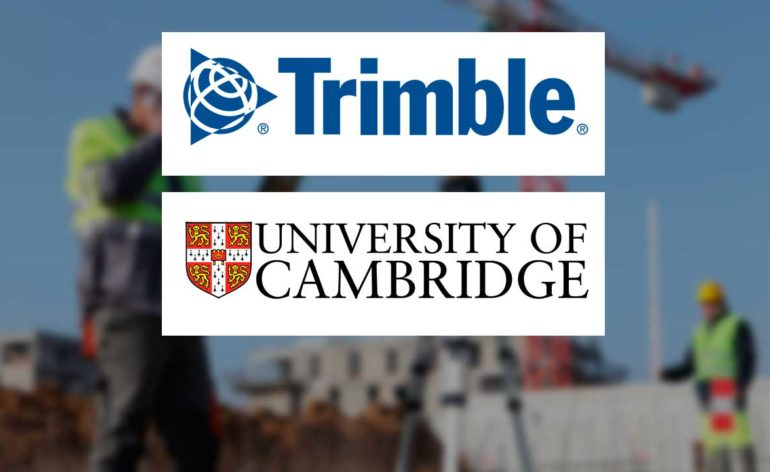 Trimble se asocia con Cambridge University