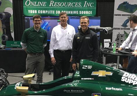 Surfcam se asocia con equipo ECR del IndyCar